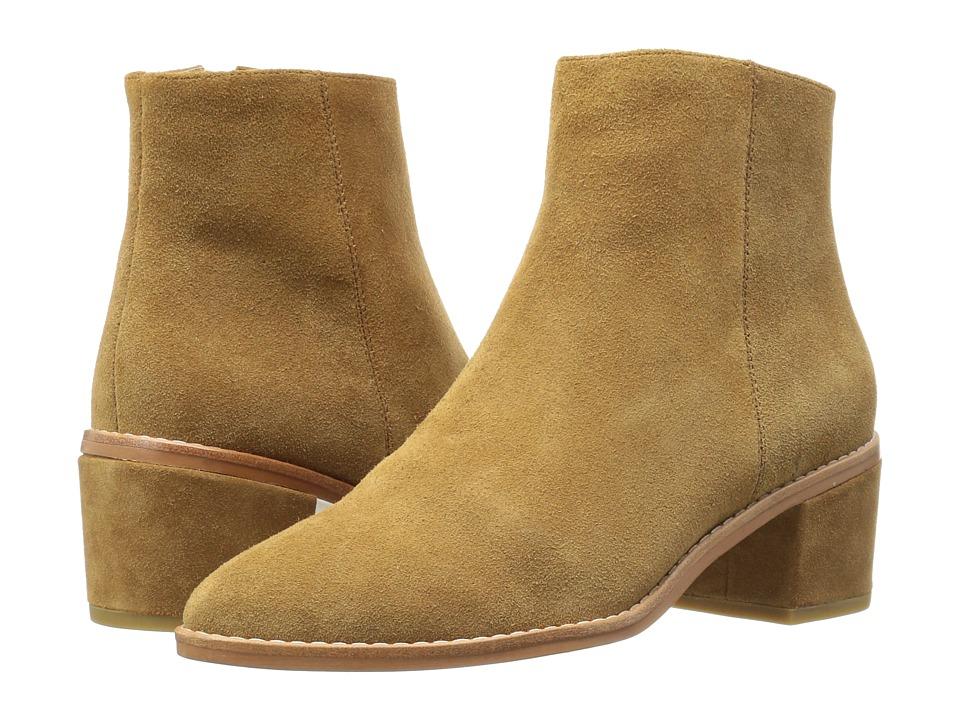 Sol Sana - Miles Boot (Cognac Suede) Women's Boots