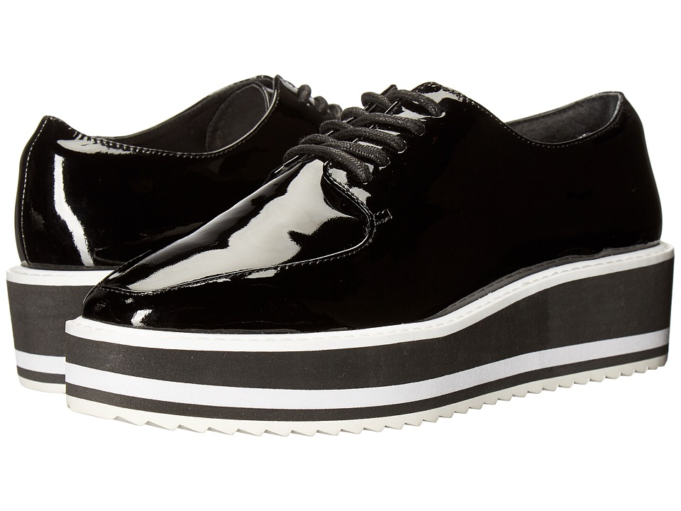 Sol Sana - Samantha Oxford (Black Patent) Women's Shoes