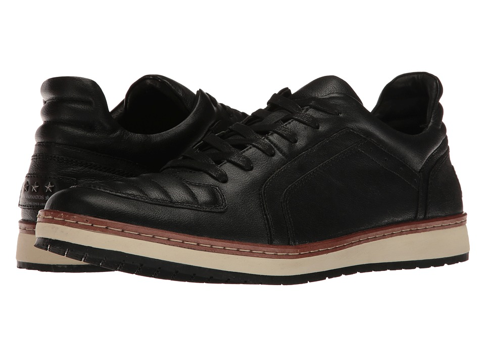 John Varvatos - Barrett Creeper Low (Black) Men's Shoes