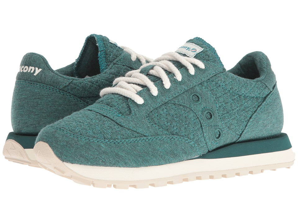 Saucony Originals - Jazz O Cozy (Green) Women's Classic Shoes