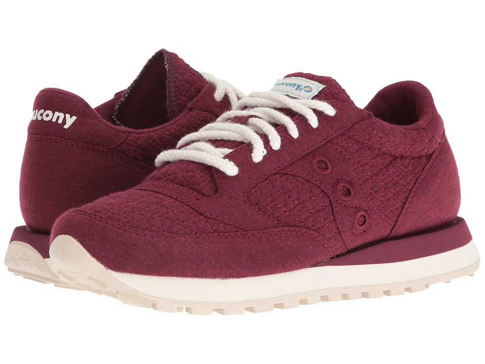 Saucony Originals - Jazz O Cozy (Burgundy) Women's Classic Shoes