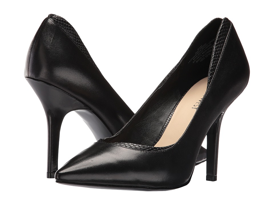 Nine West - Twine (Black Leather/Black Leather) Women's Shoes