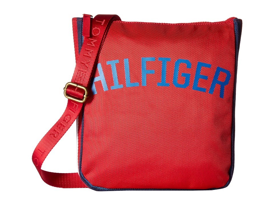 Tommy Hilfiger - Zachary Crossbody Nylon (Mars Red) Cross Body Handbags