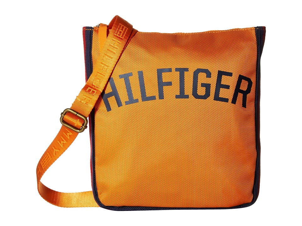 Tommy Hilfiger - Zachary Crossbody Nylon (Orange Pepper) Cross Body Handbags