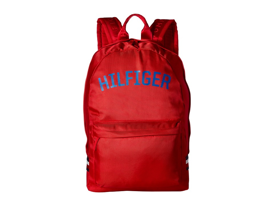Tommy Hilfiger - Zachary Backpack Nylon (Mars Red) Backpack Bags