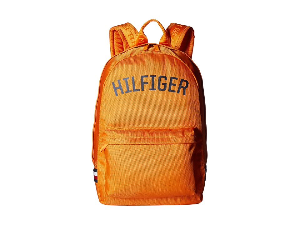 Tommy Hilfiger - Zachary Backpack Nylon (Orange Pepper) Backpack Bags