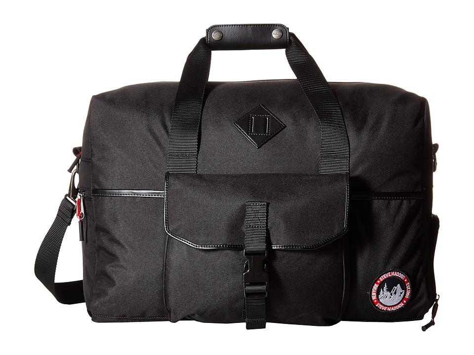 Steve Madden - Adventure Duffel (Black) Duffel Bags