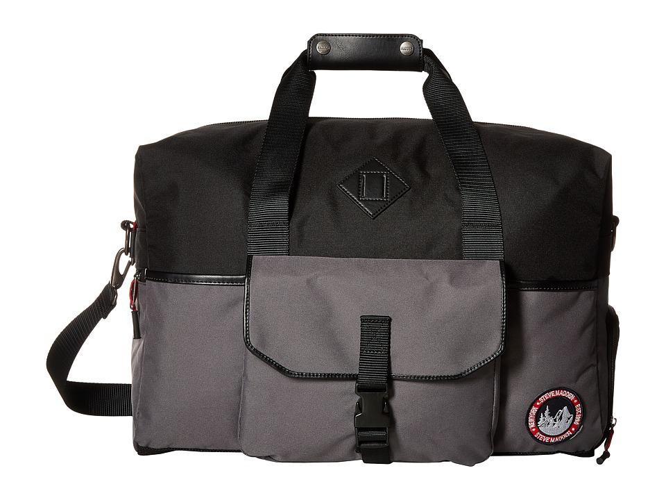 Steve Madden - Adventure Duffel (Grey) Duffel Bags