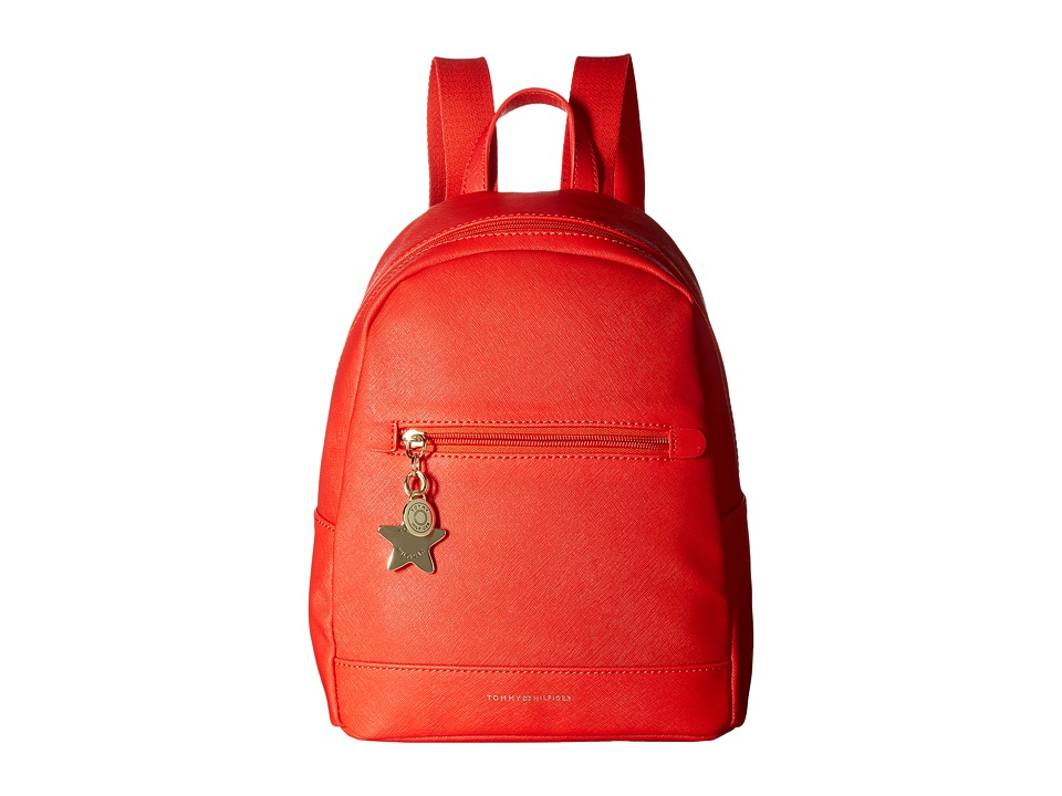 Tommy Hilfiger - Emlyn II Small Backpack (Fiery Red) Backpack Bags