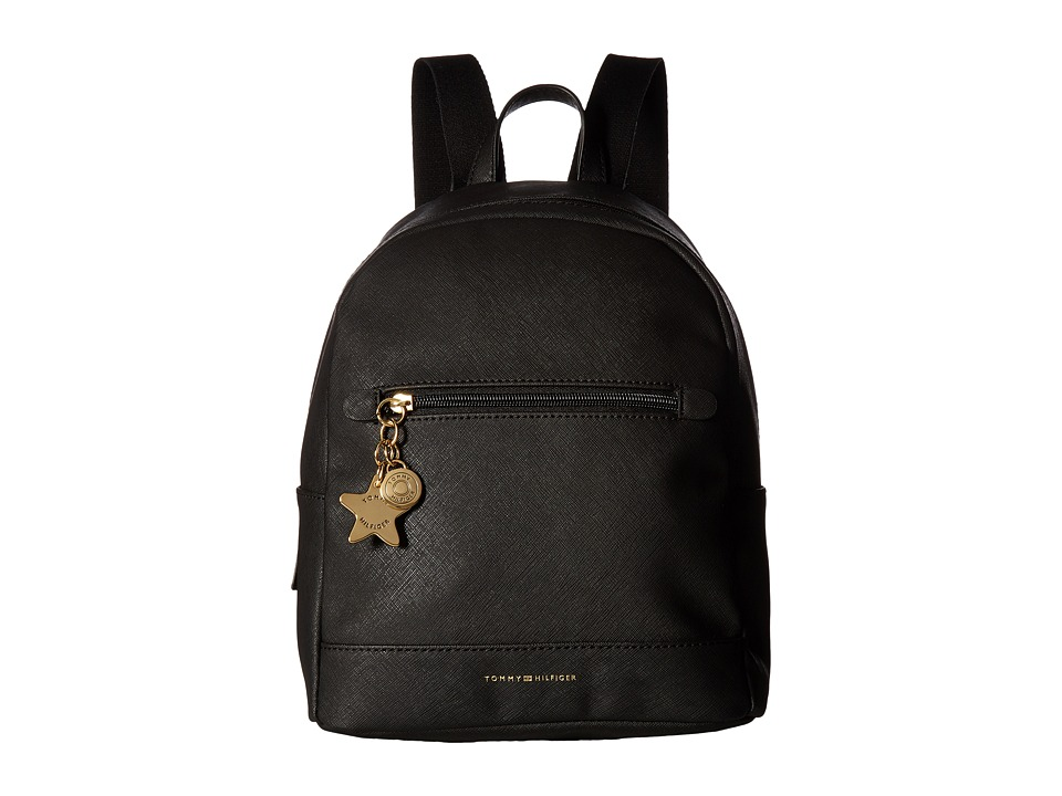 Tommy Hilfiger - Emlyn II Small Backpack (Black) Backpack Bags