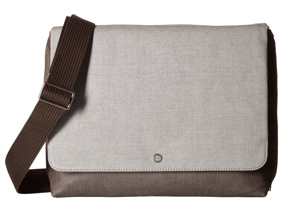 Skagen - Eric Messenger Bag (Heather Grey) Messenger Bags