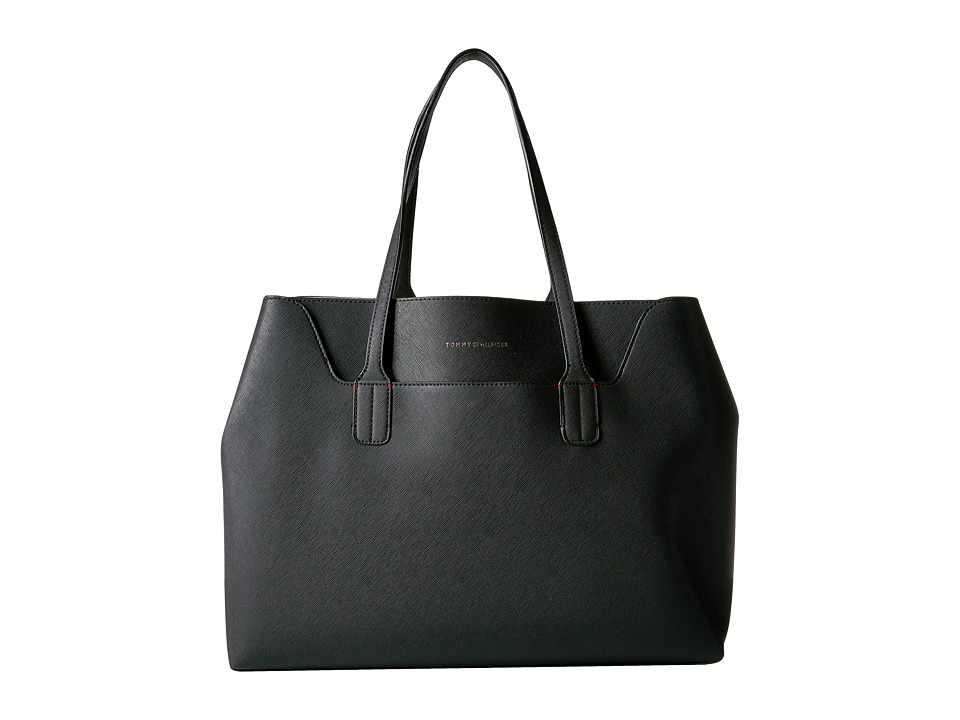 Tommy Hilfiger - Adamaria Tote Double Sided (Black) Tote Handbags