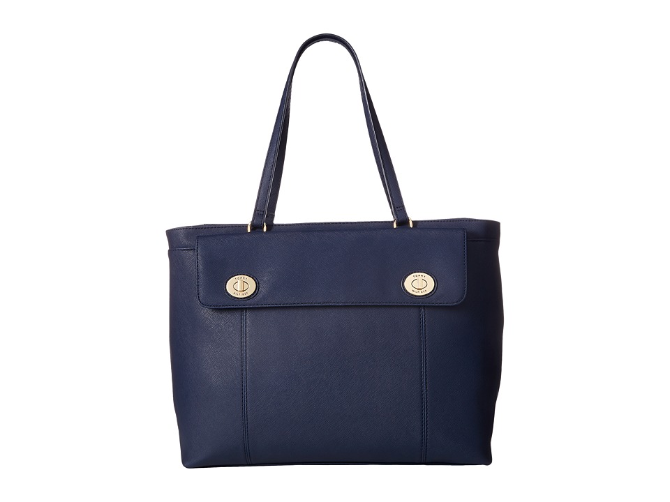 Tommy Hilfiger - Polly II Tote Saffiano (Tommy Navy) Tote Handbags