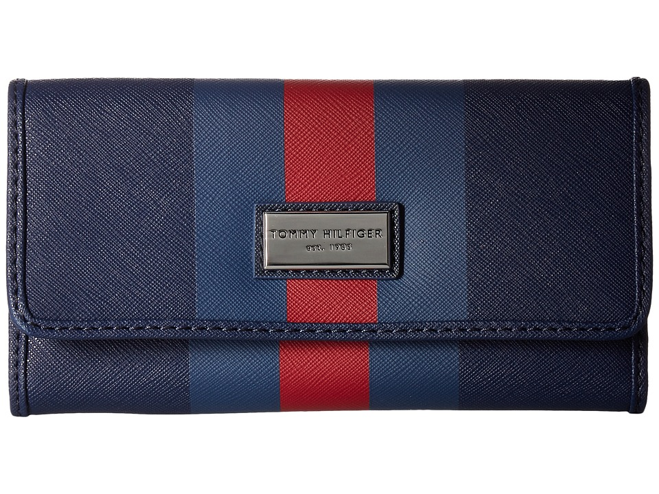 Tommy Hilfiger - Prep Club Continental Wallet II (Tommy Navy) Wallet Handbags