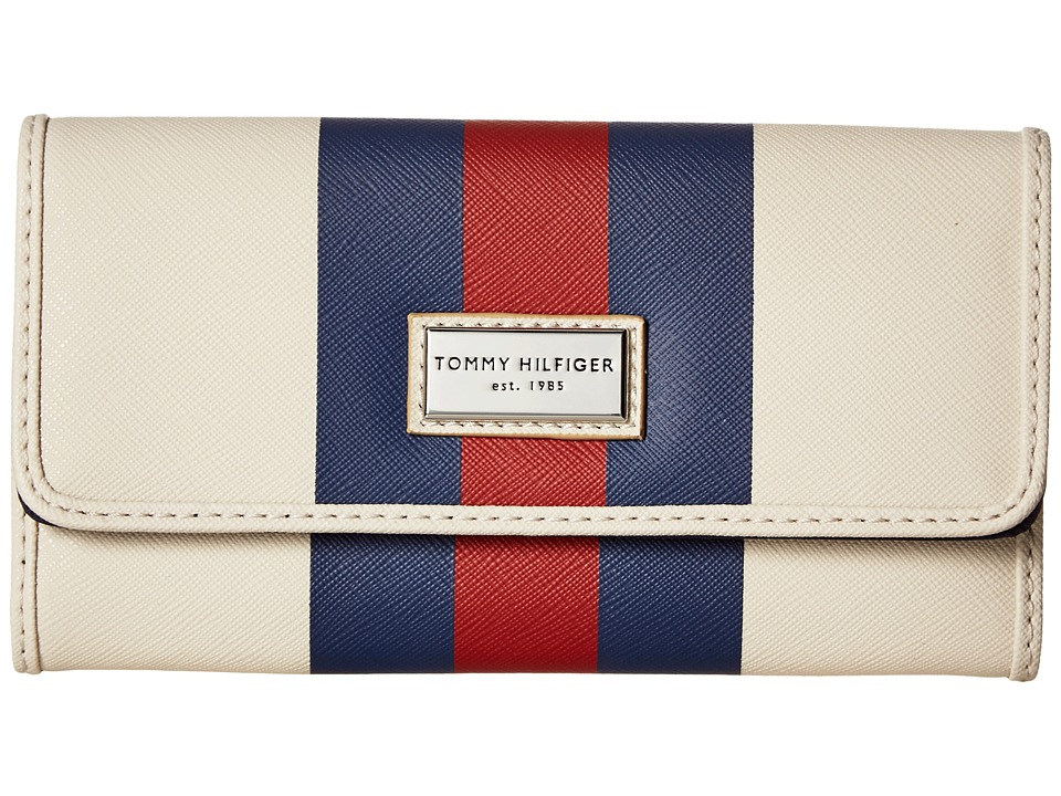 Tommy Hilfiger - Prep Club Continental Wallet II (Oatmeal) Wallet Handbags