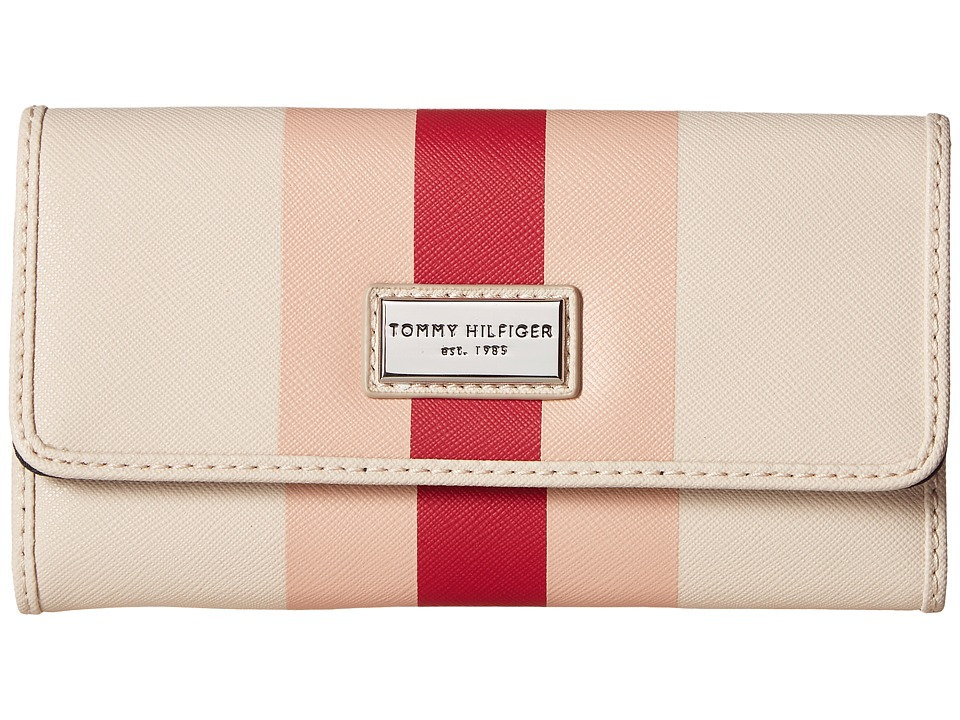 Tommy Hilfiger - Prep Club Continental Wallet II (Blush) Wallet Handbags