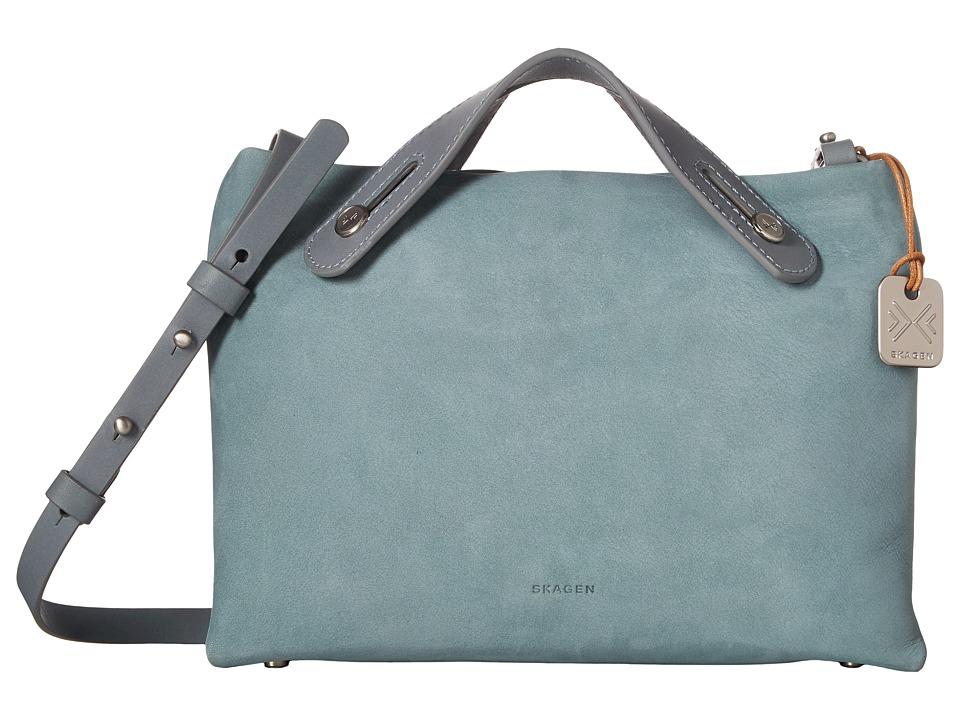Skagen - Mini Mikkeline Satchel (Chambray) Satchel Handbags