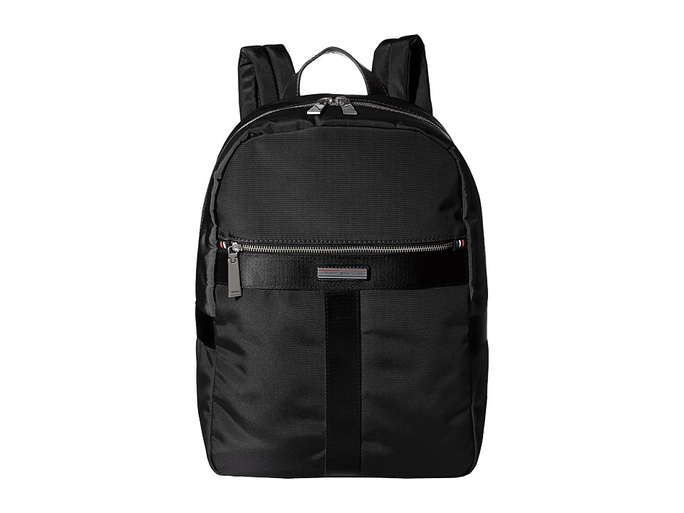 Tommy Hilfiger - Darren Backpack Codura Nylon (Black) Backpack Bags