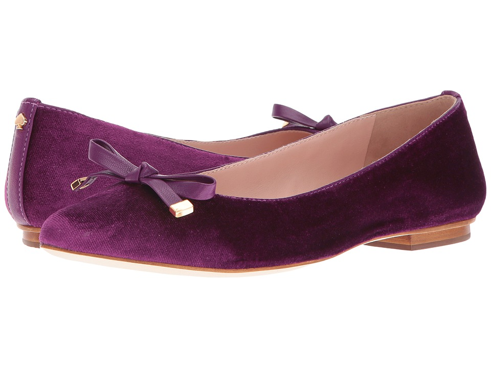 Kate Spade New York - Emma Too (Prune Velvet/Prune Nappa) Women's Shoes