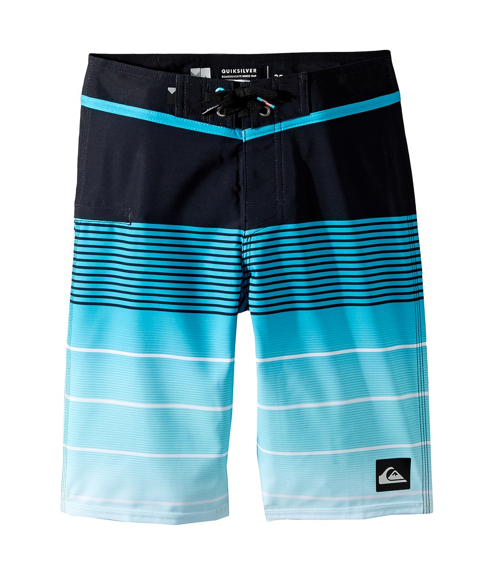 Quiksilver Kids - Division Vee 19 Boardshorts (Big Kids) (Scuba Blue) Boy's Swimwear