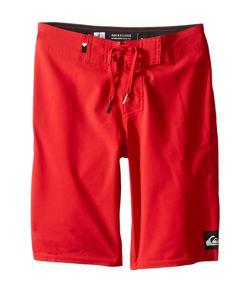 Quiksilver Kids - Everyday Kaimana Vee 19 Boardshorts (Big Kids) (Quik Red) Boy's Swimwear