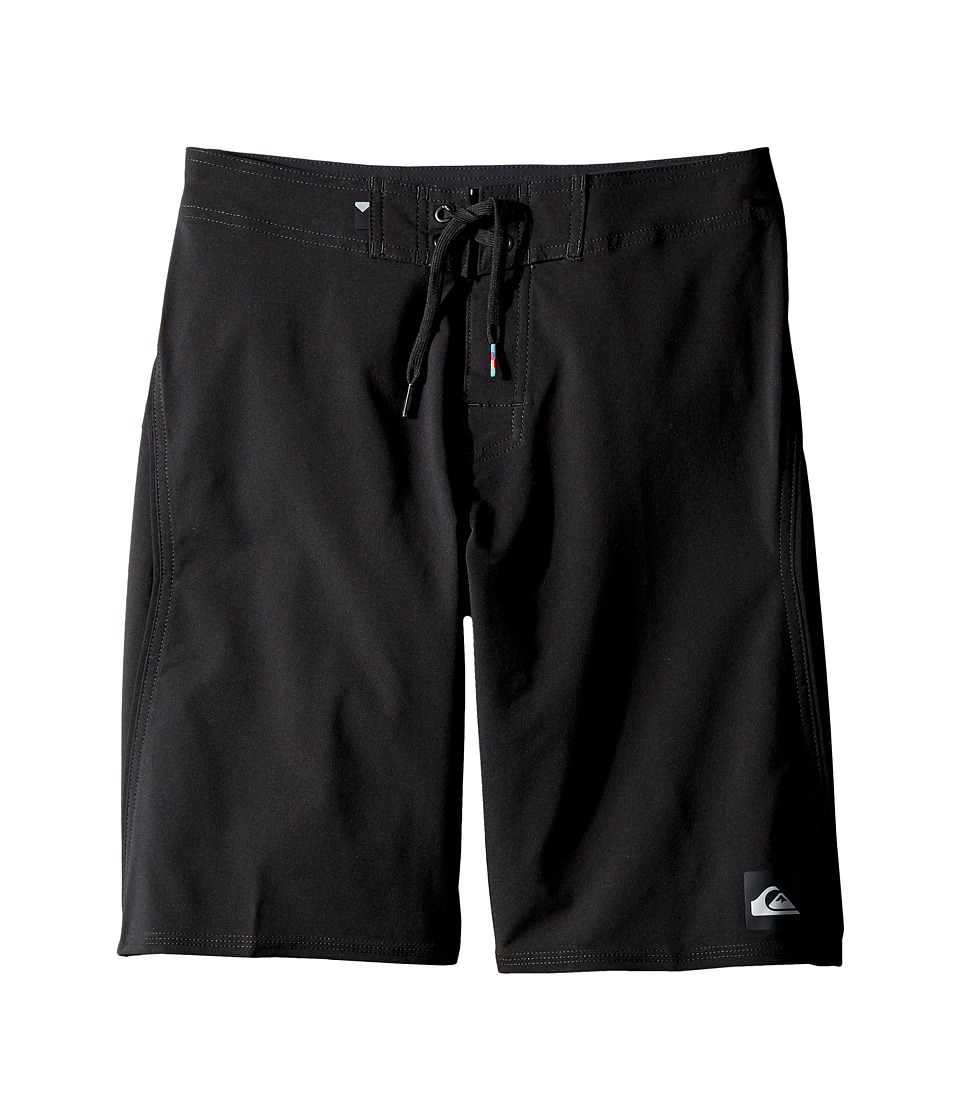 Quiksilver Kids - Everyday Kaimana Vee 19 Boardshorts (Big Kids) (Black) Boy's Swimwear