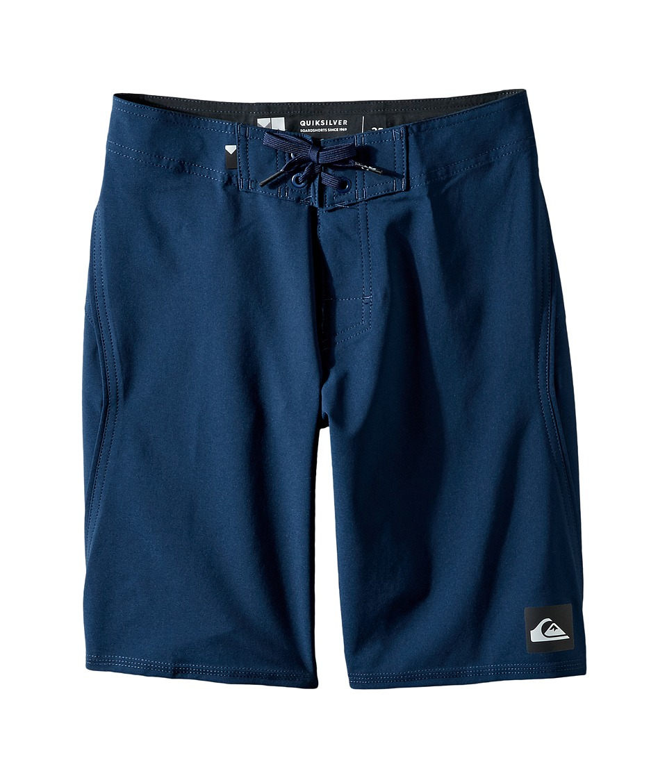 Quiksilver Kids Everyday Kaimana Vee 19 Boardshorts (Big Kids) (Navy Blazer) Boy
