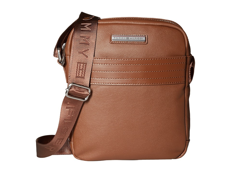 Tommy Hilfiger - Morgan Reporter Leather (Cognac) Bags