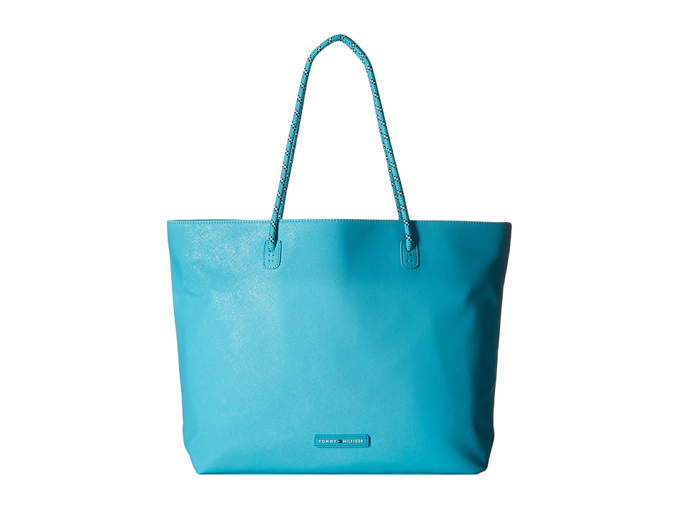 Tommy Hilfiger - Tote w/ Removable Sling (Scuba Blue) Tote Handbags