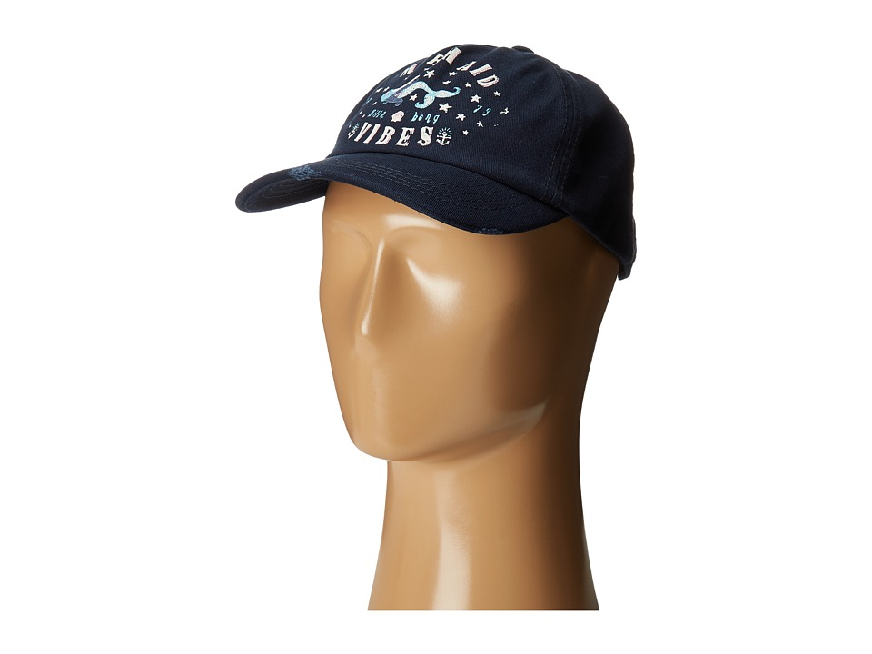 Billabong - Surf Club Cap Hat (Deep Sea Blue 1) Baseball Caps