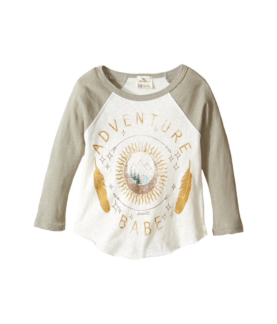 O'Neill Kids - Adventure Girl Long Sleeve Screen Tee (Little Kids/Big Kids) (Naked) Girl's Clothing