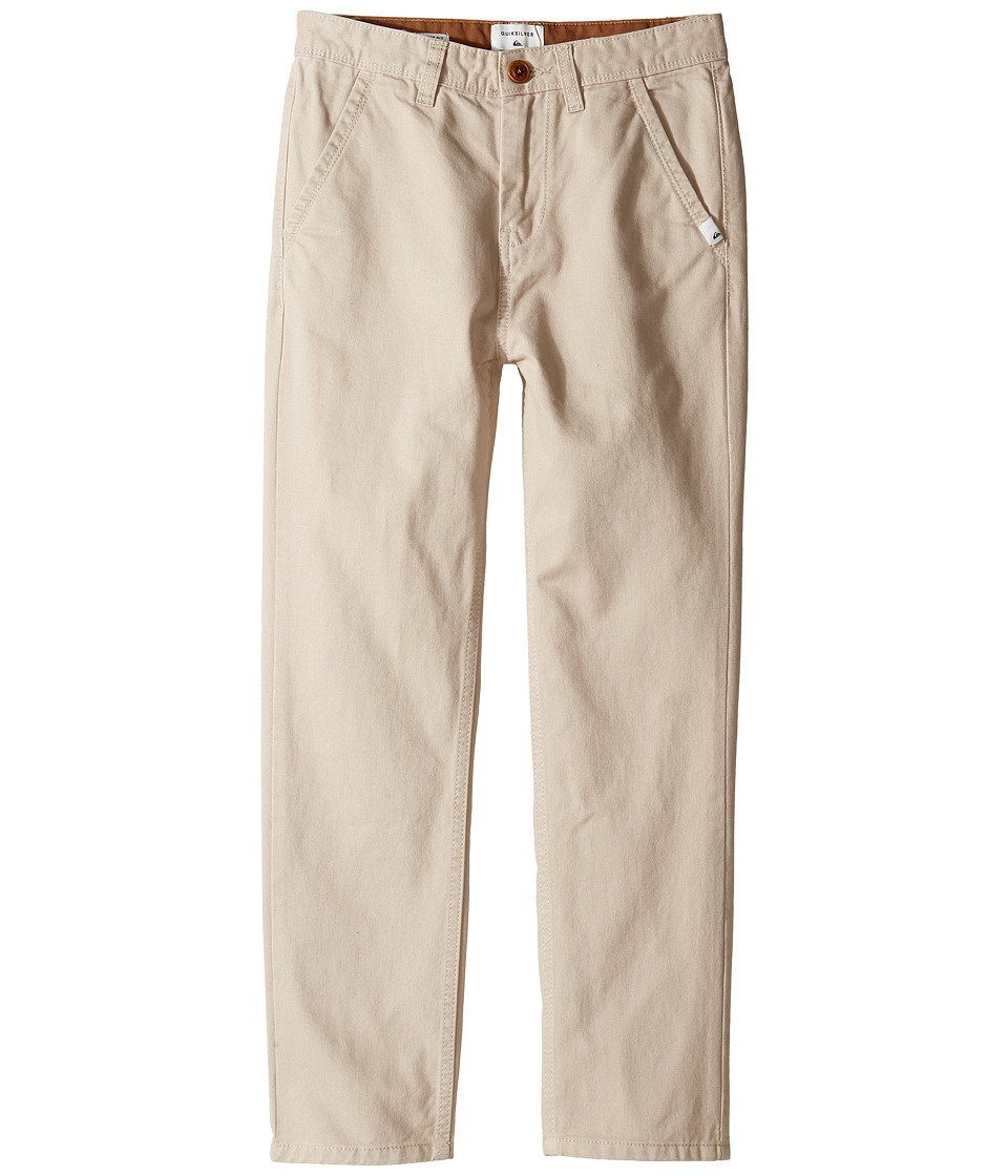 Quiksilver Kids - Everyday Chino Non-Denim Pants (Big Kids) (Plaza Taupe) Boy's Casual Pants