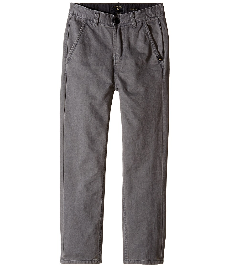Quiksilver Kids - Everyday Chino Non-Denim Pants (Big Kids) (Dark Shadow) Boy's Casual Pants