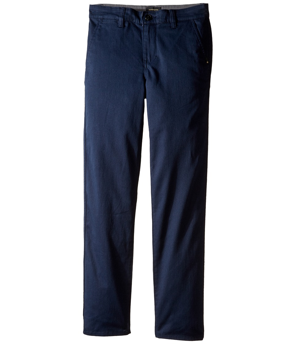 Quiksilver Kids - Everyday Union Pant Non-Denim Pants (Big Kids) (Navy Blazer) Boy's Casual Pants