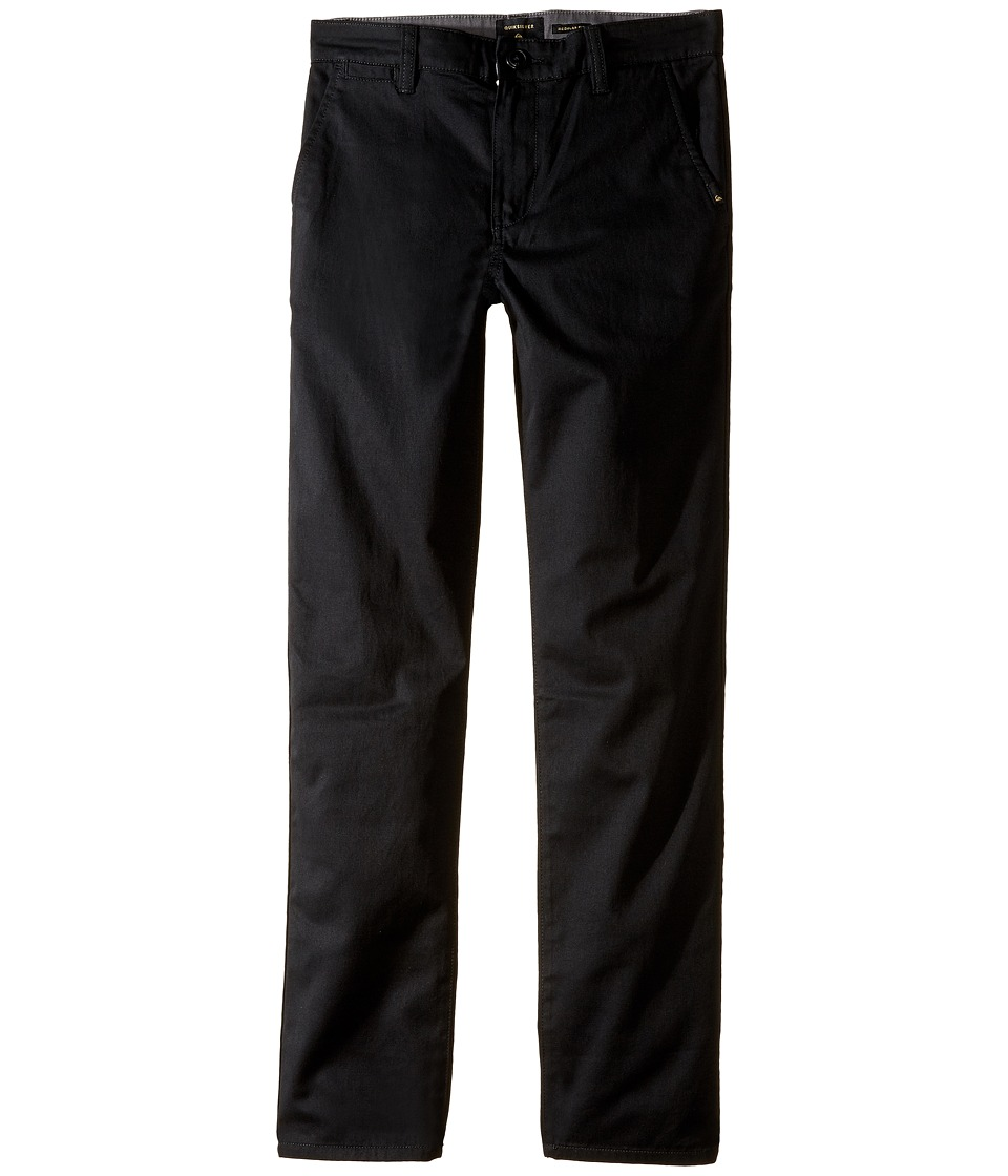 Quiksilver Kids - Everyday Union Pant Non-Denim Pants (Big Kids) (Black) Boy's Casual Pants
