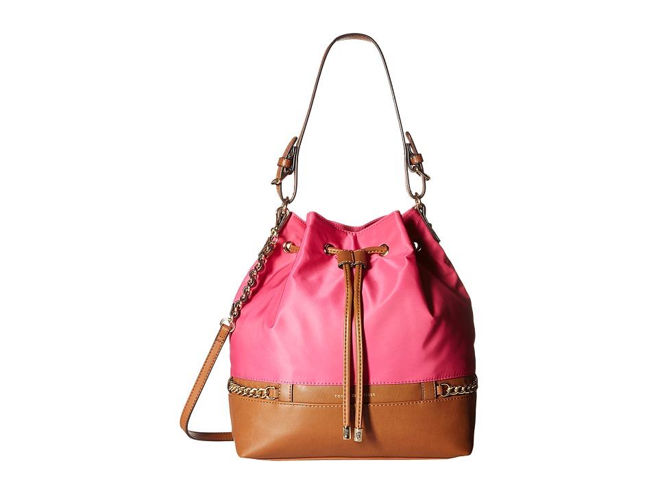 Tommy Hilfiger - Cassidy - Drawstring (Fuchsia) Drawstring Handbags