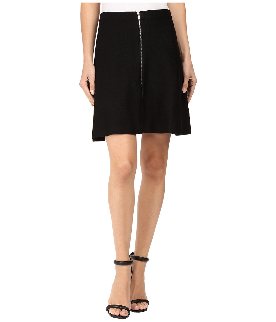 XOXO - Zip-Up Skirt (Black) Women's Skirt
