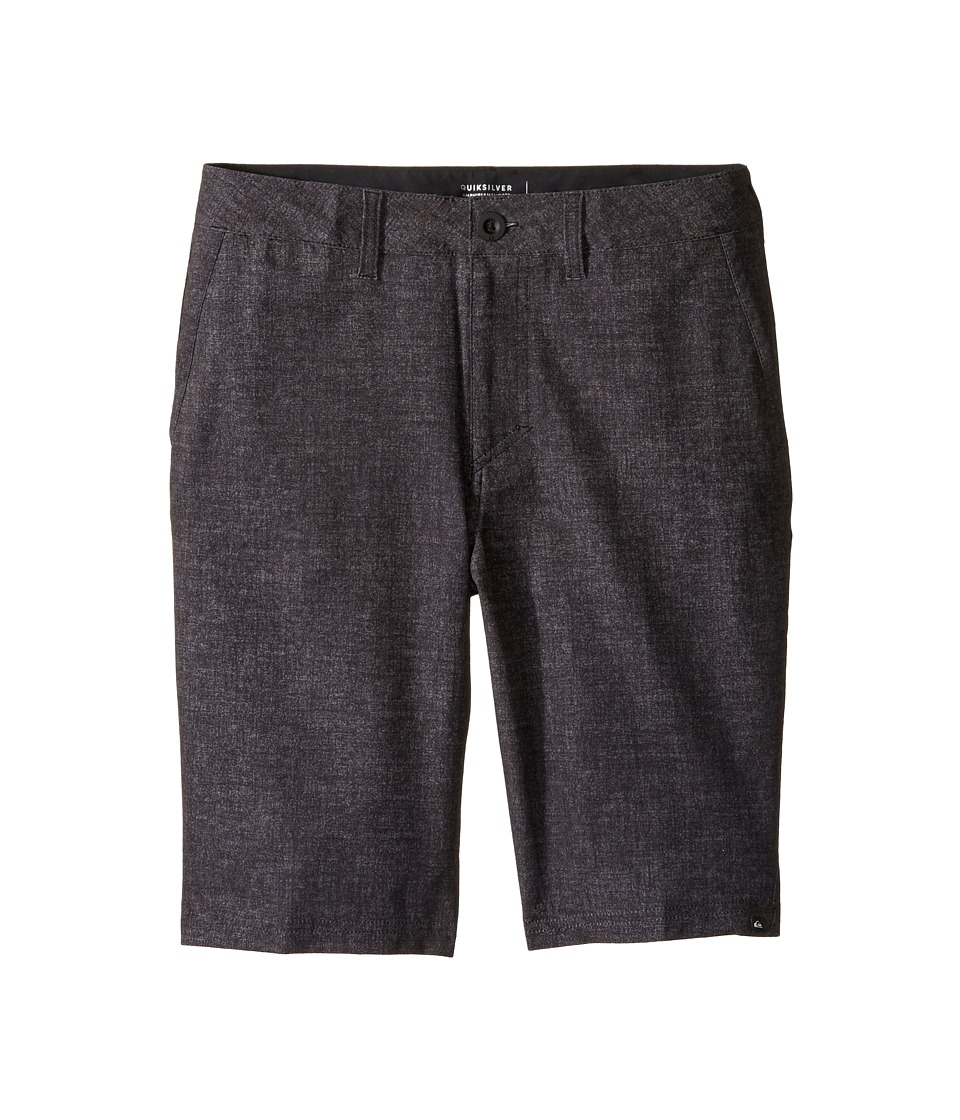 Quiksilver Kids - Platypus Amphibian 19 Walkshorts (Big Kids) (Black Platypus) Boy's Shorts