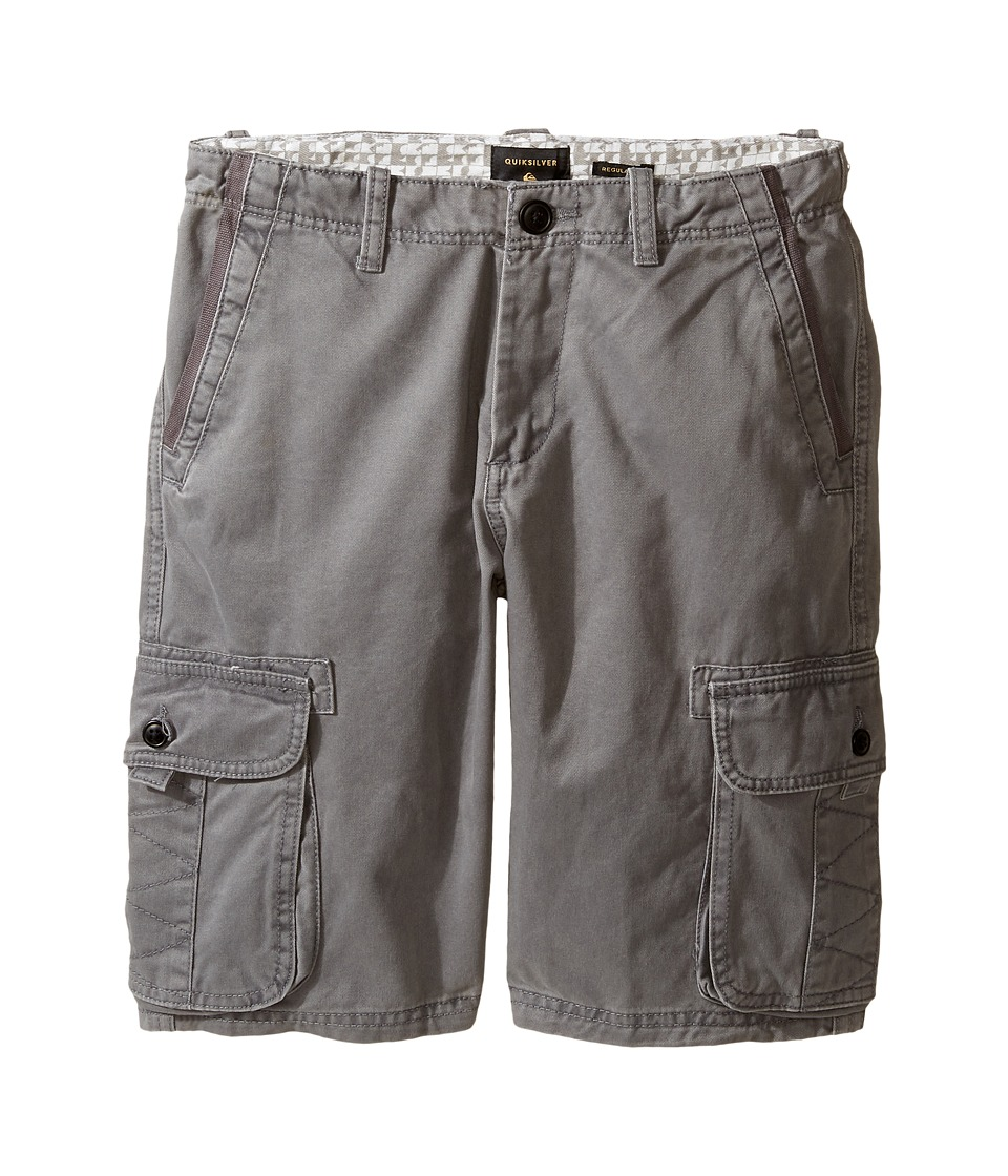 Quiksilver Kids - Everyday Deluxe Walkshorts (Big Kids) (Castlerock) Boy's Shorts
