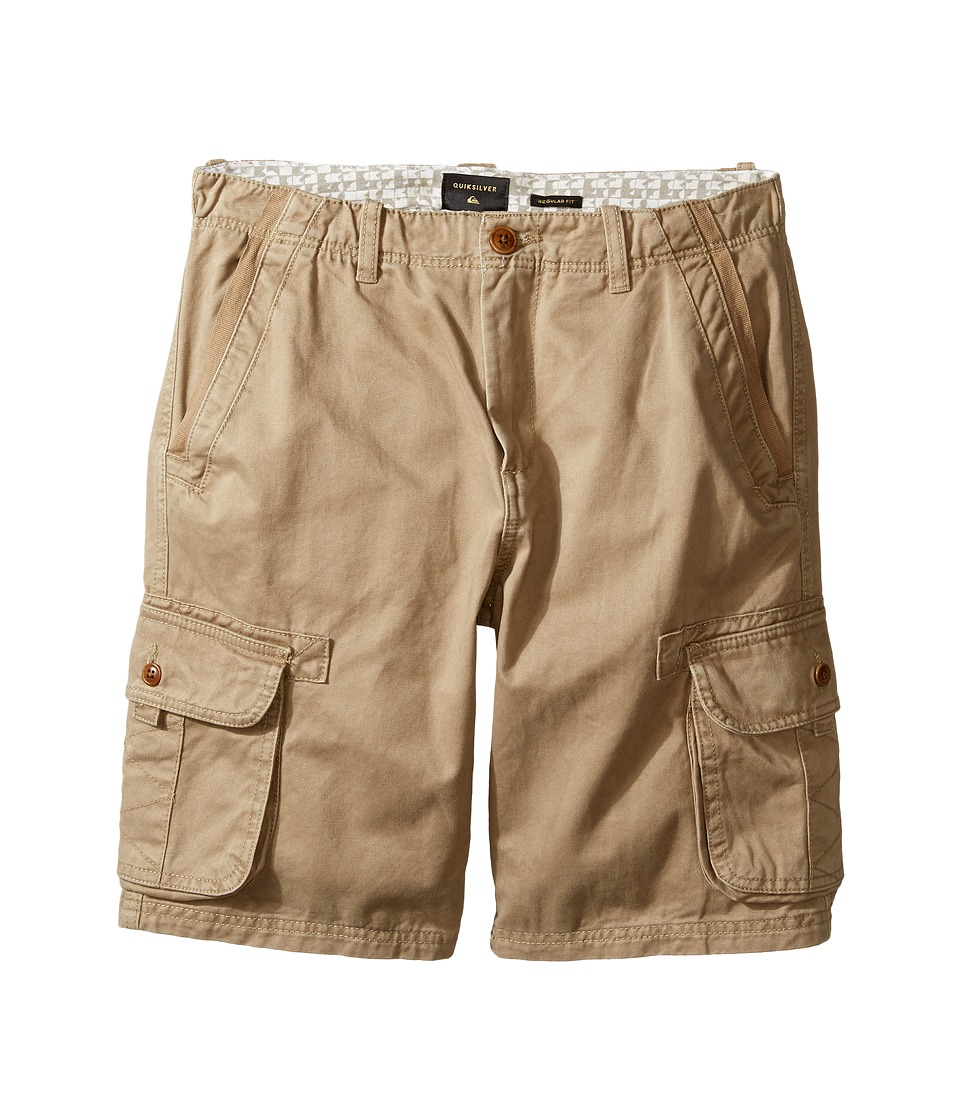 Quiksilver Kids - Everyday Deluxe Walkshorts (Big Kids) (Elmwood) Boy's Shorts