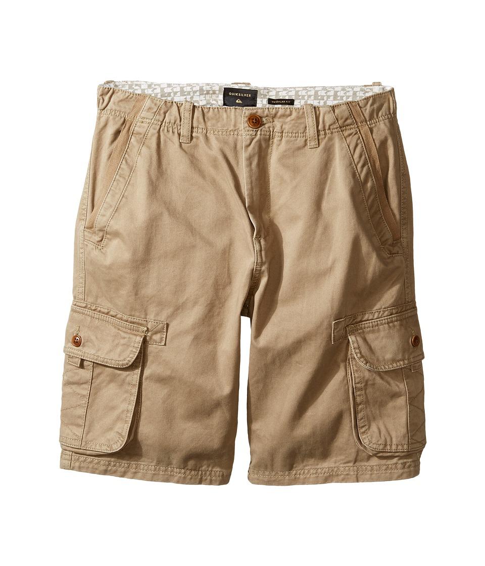 Quiksilver Kids - Everyday Deluxe Walkshorts (Big Kids) (Elmwood) Boy's Shorts