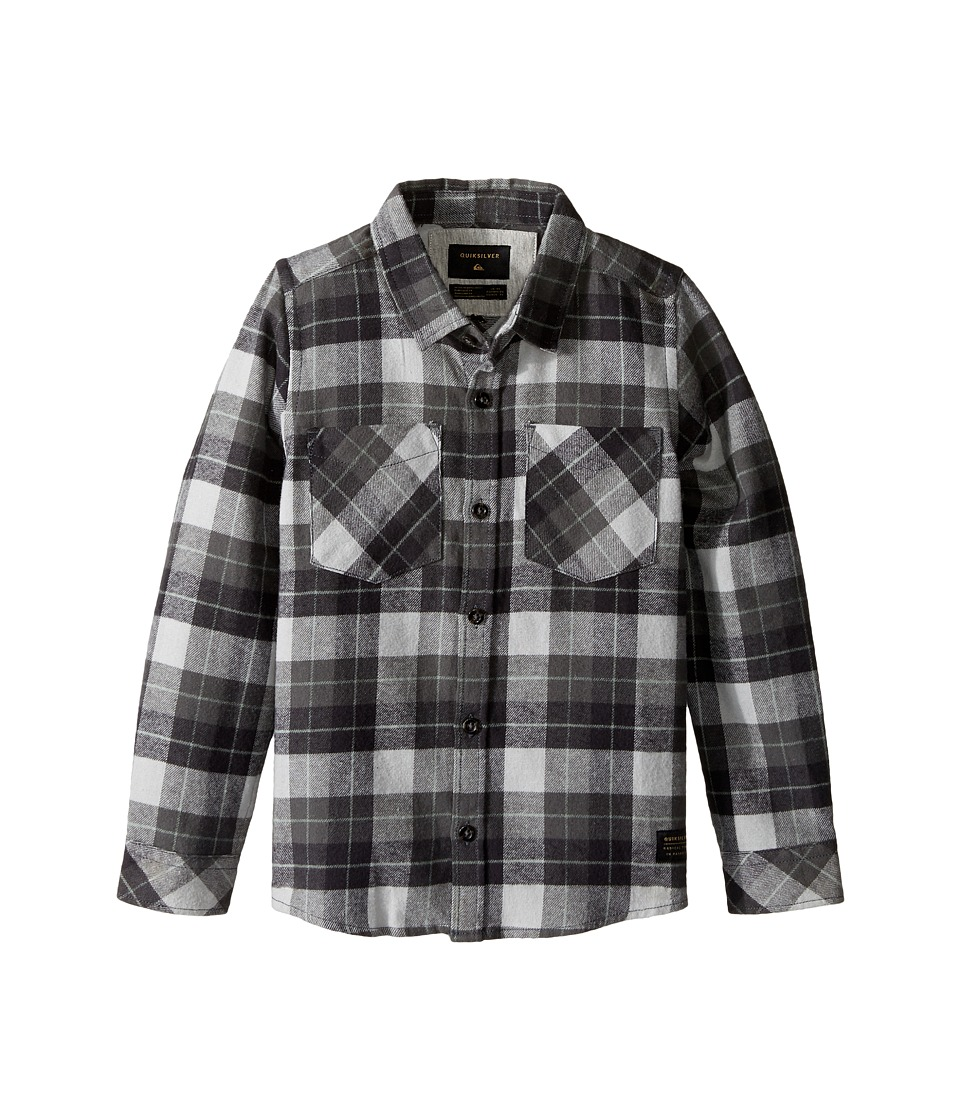 Quiksilver Kids - Major Reform Woven Top (Toddler/Little Kids) (Major Reform Tarmac) Boy's Clothing