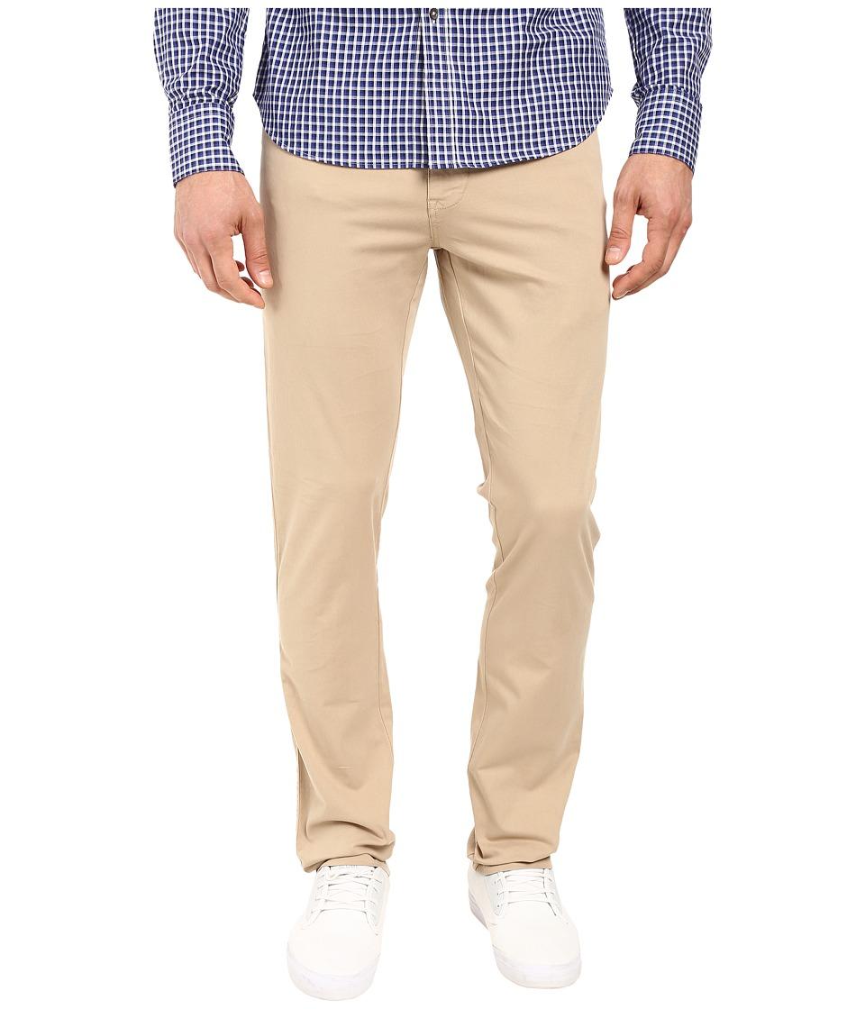 Vintage 1946 - Sunny Stretch Five-Pocket Comact Twill Modern Fit Khaki (Khaki) Men's Casual Pants