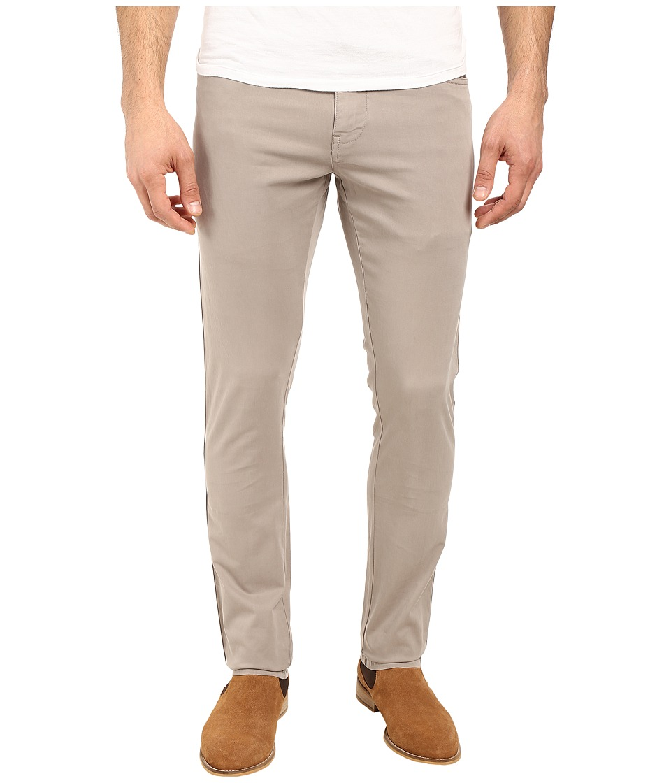 Vintage 1946 - Sunny Stretch Five-Pocket Comact Twill Modern Fit Khaki (Dusty Silver) Men's Casual Pants