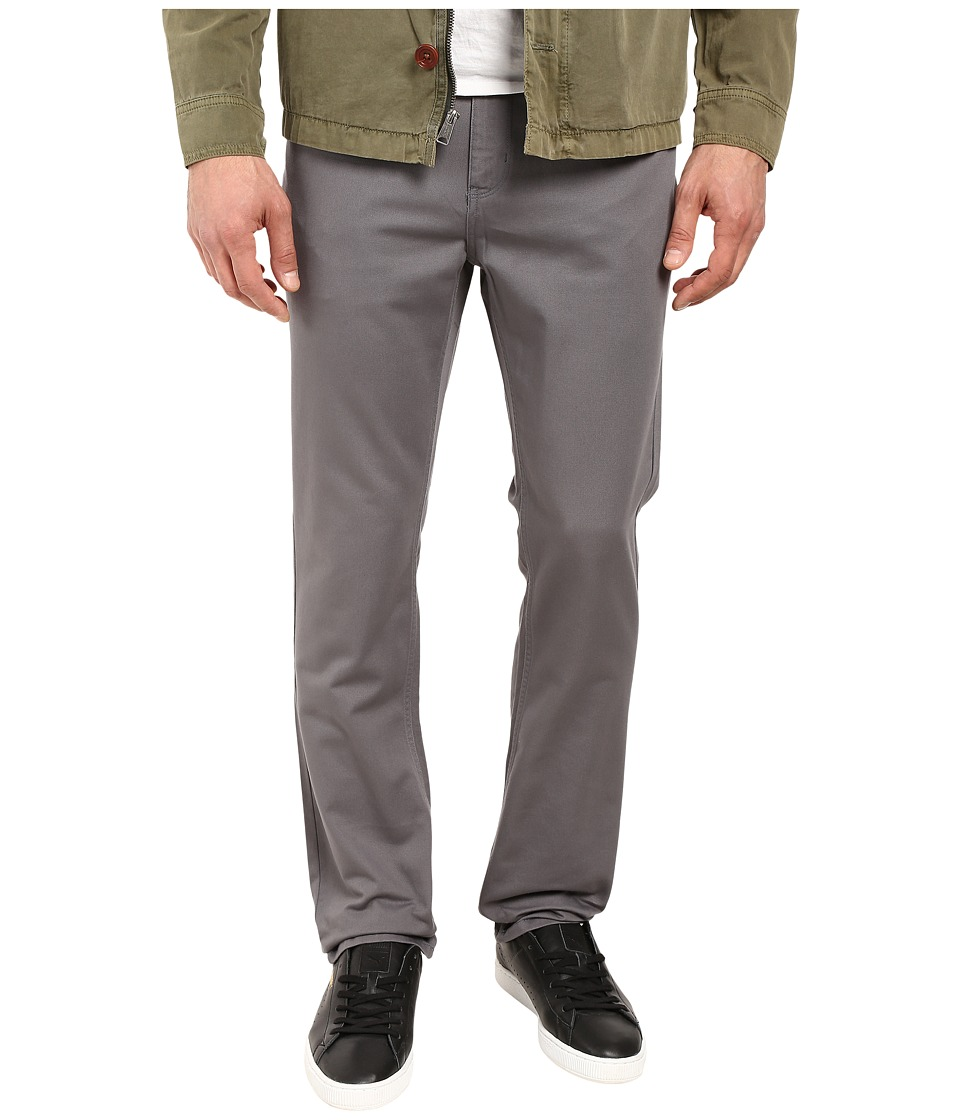 Perry Ellis - Slim Fit Five-Pocket Twill Pants (Castle Rock) Men's Casual Pants