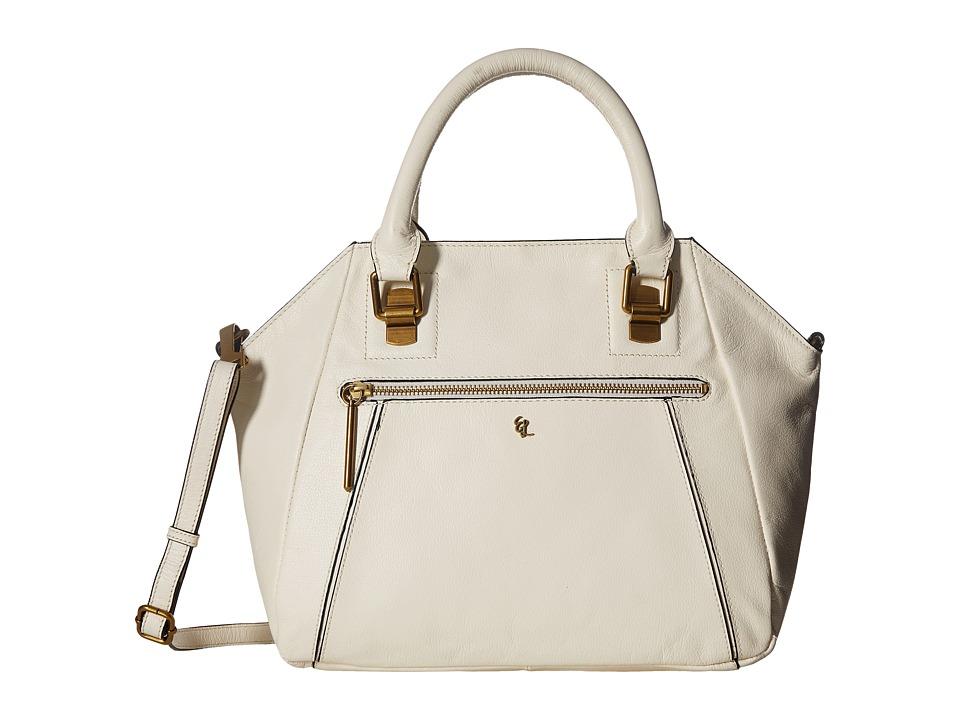 Elliott Lucca - Faro City Satchel (Cr me) Satchel Handbags