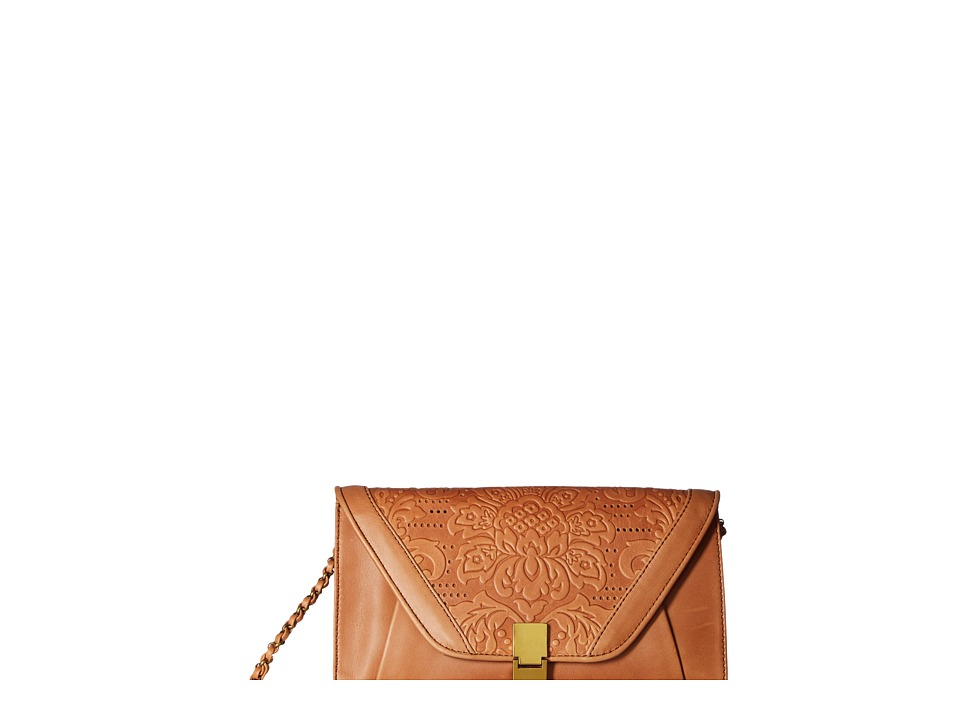 Elliott Lucca - Cordoba Clutch (Tobacco Vintage Floral) Clutch Handbags
