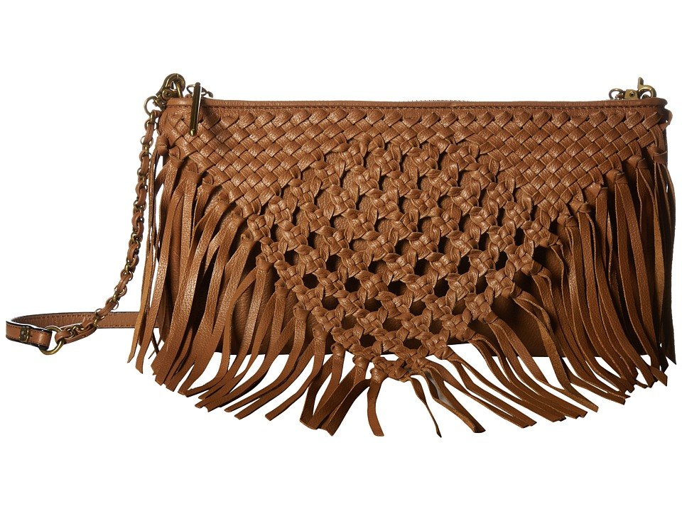 Elliott Lucca - Lucca 3-Way Demi (Cognac Macrame) Cross Body Handbags