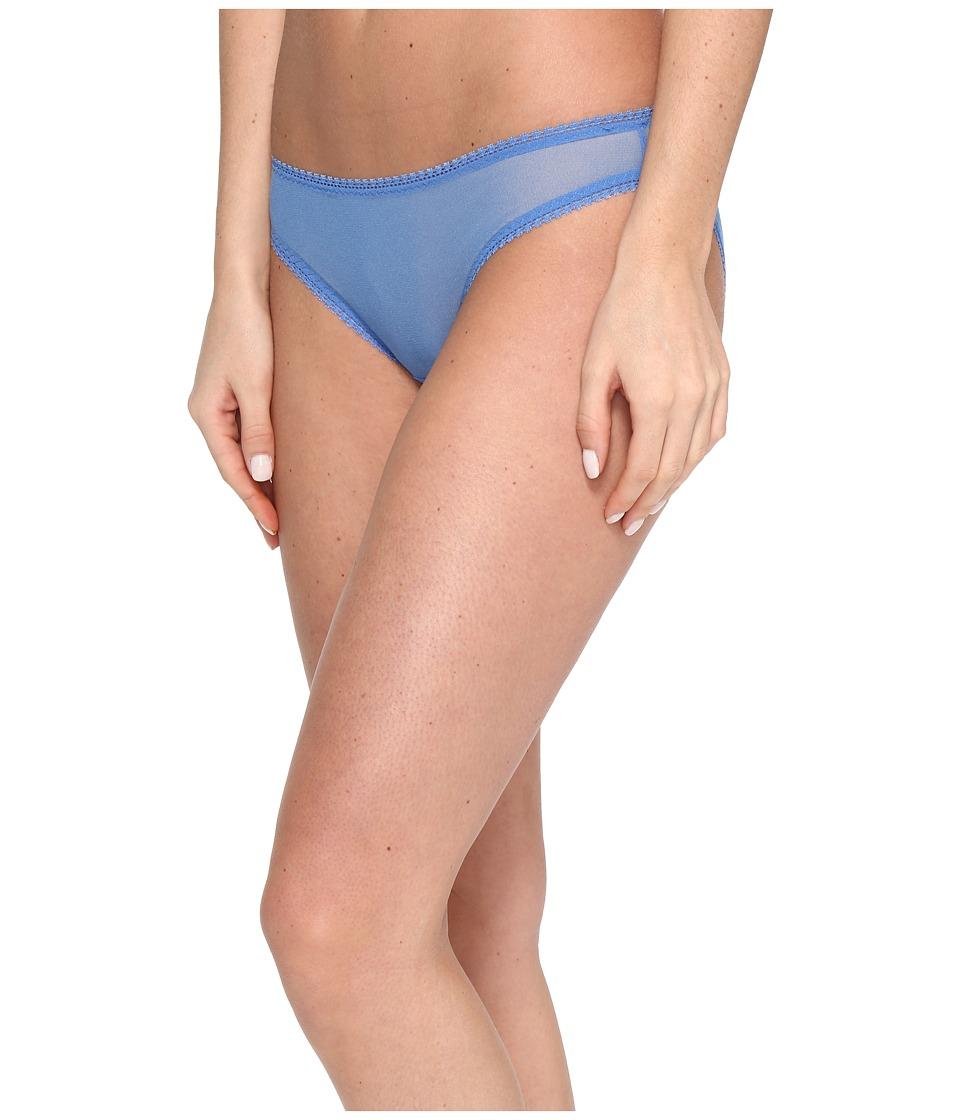 OnGossamer - Solid Gossamer Mesh Hip Bikini 3202 (Mirage Blue) Women's Underwear