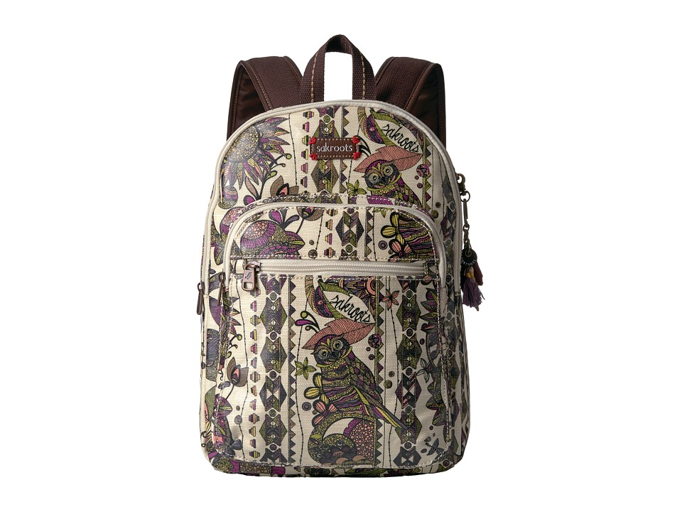 Sakroots - Artist Circle Mini Backpack (Ivory Spirit Desert) Backpack Bags